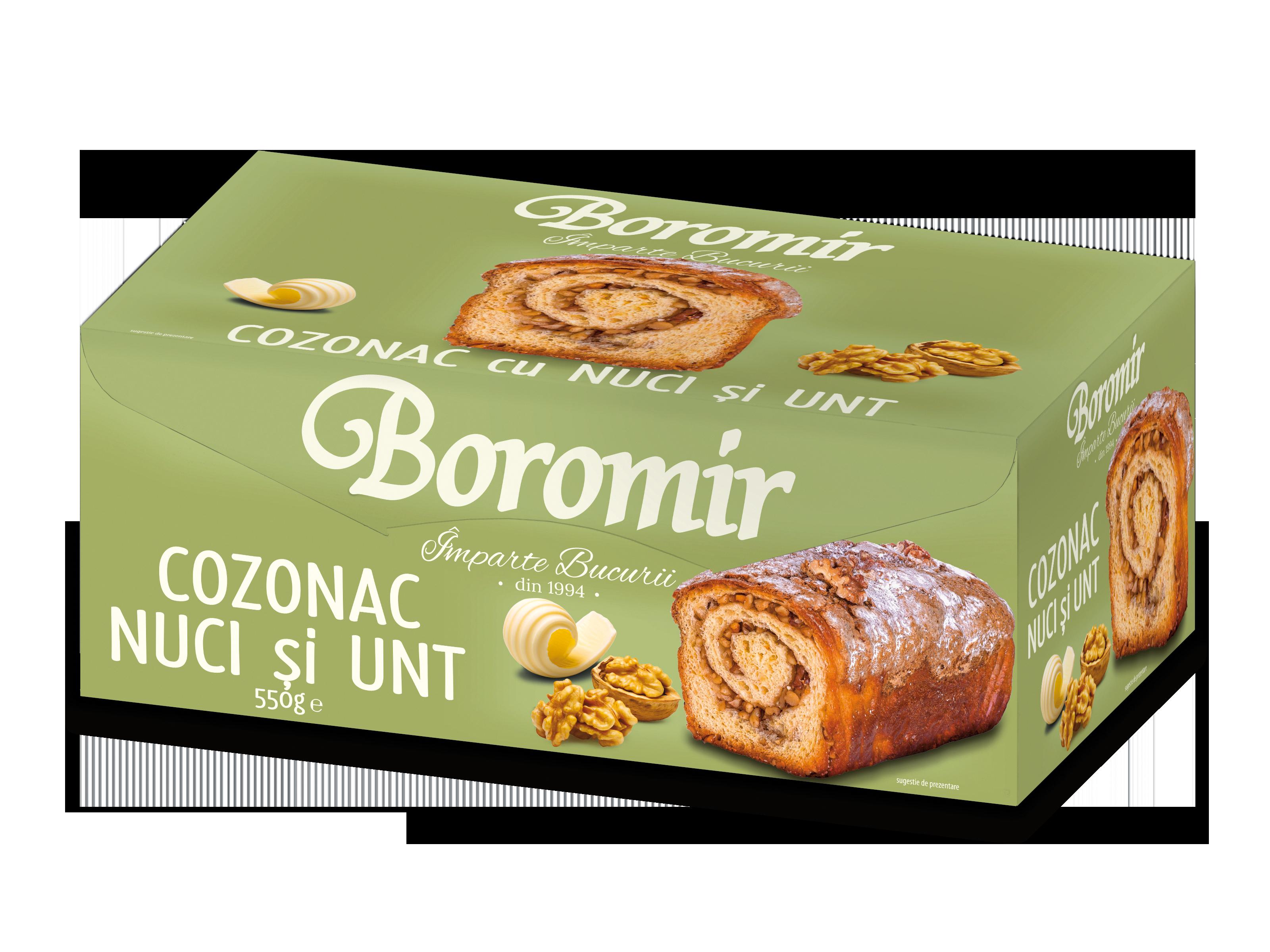 De ce este atat de popular cozonacul cu nuci si unt de la Boromir?